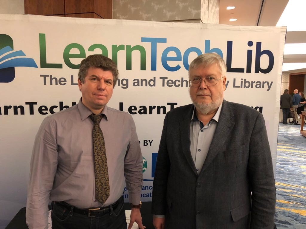 Professors Sergey Grigoriev and Vadim Grinshkun participated in the SITE Conference in Washington