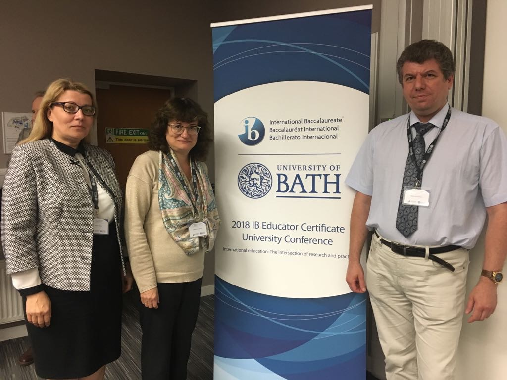MCU takes part in the IB Educator Certificate University Conference in the United Kingdom