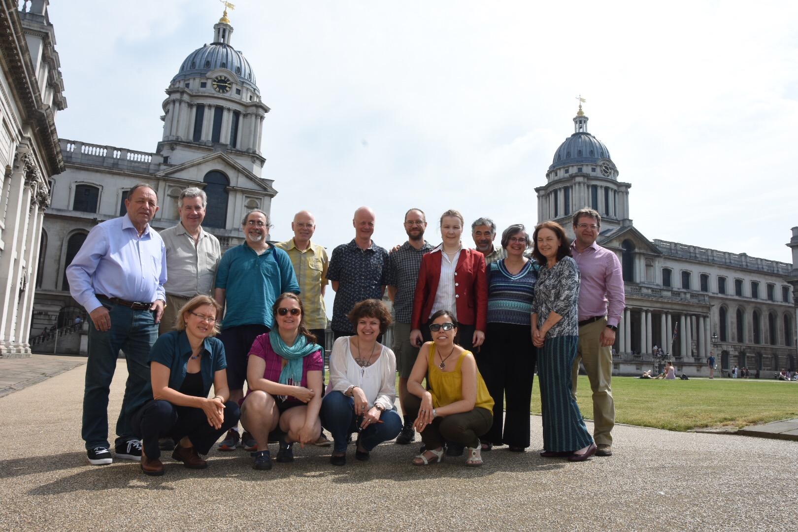 MCU researchers visiting University of Greenwich