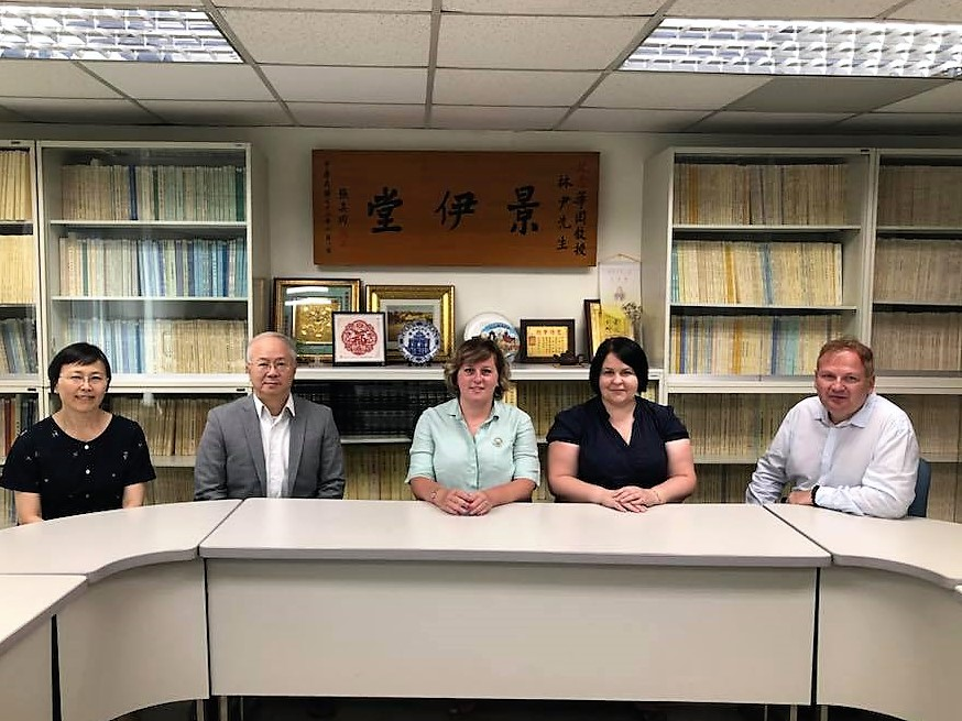 Delegation from MCU visiting Taiwan