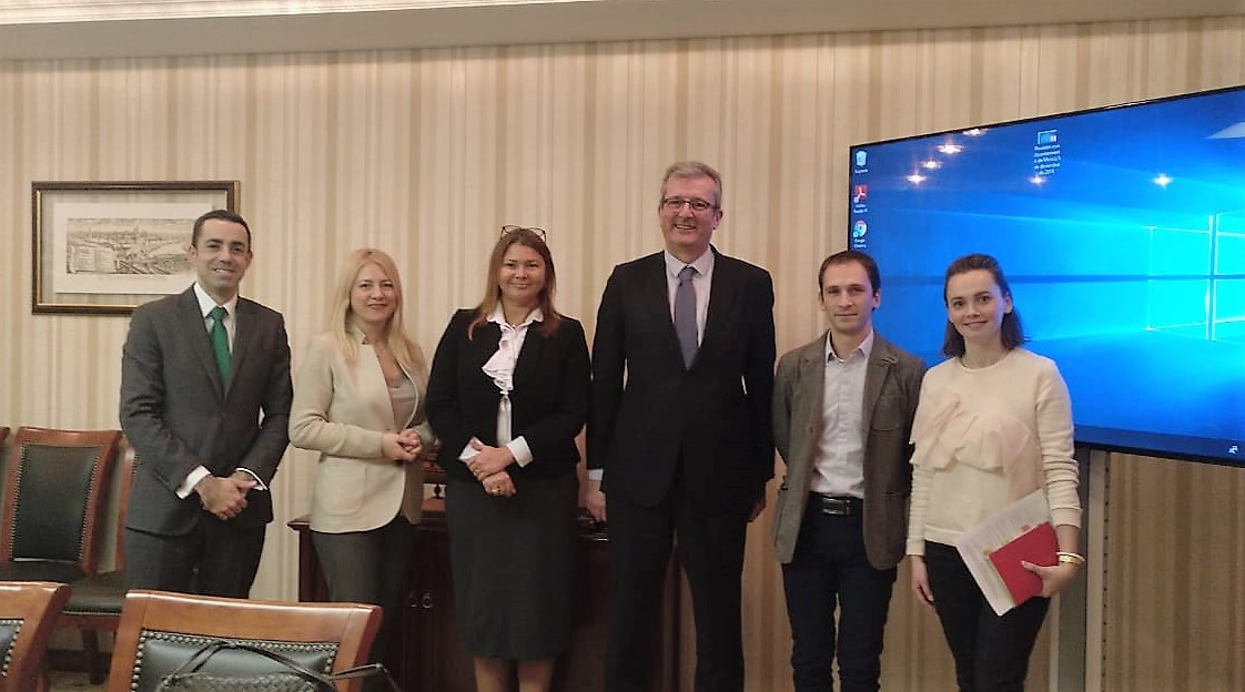 MCU and the Embassy of Spain discussing cooperation prospects
