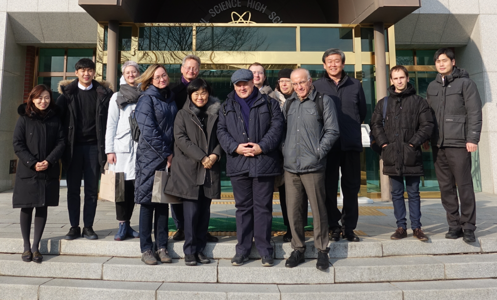 MCU delegation visiting Seoul National Univesity