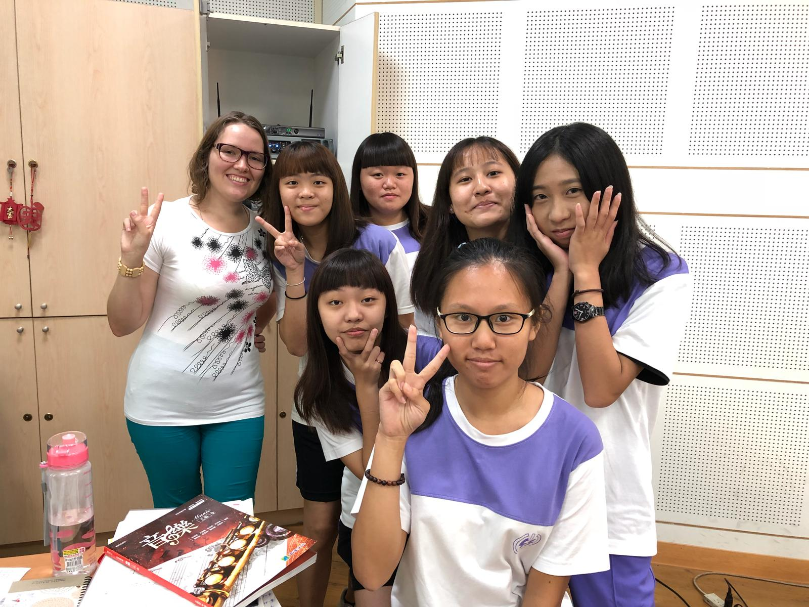 Teaching Russian in Taiwan