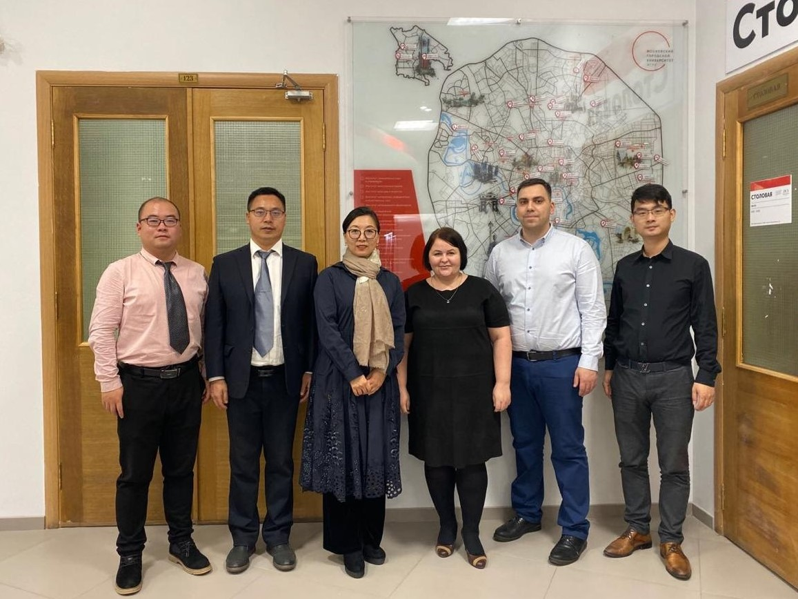 Delegation from Xi'an International University at MCU