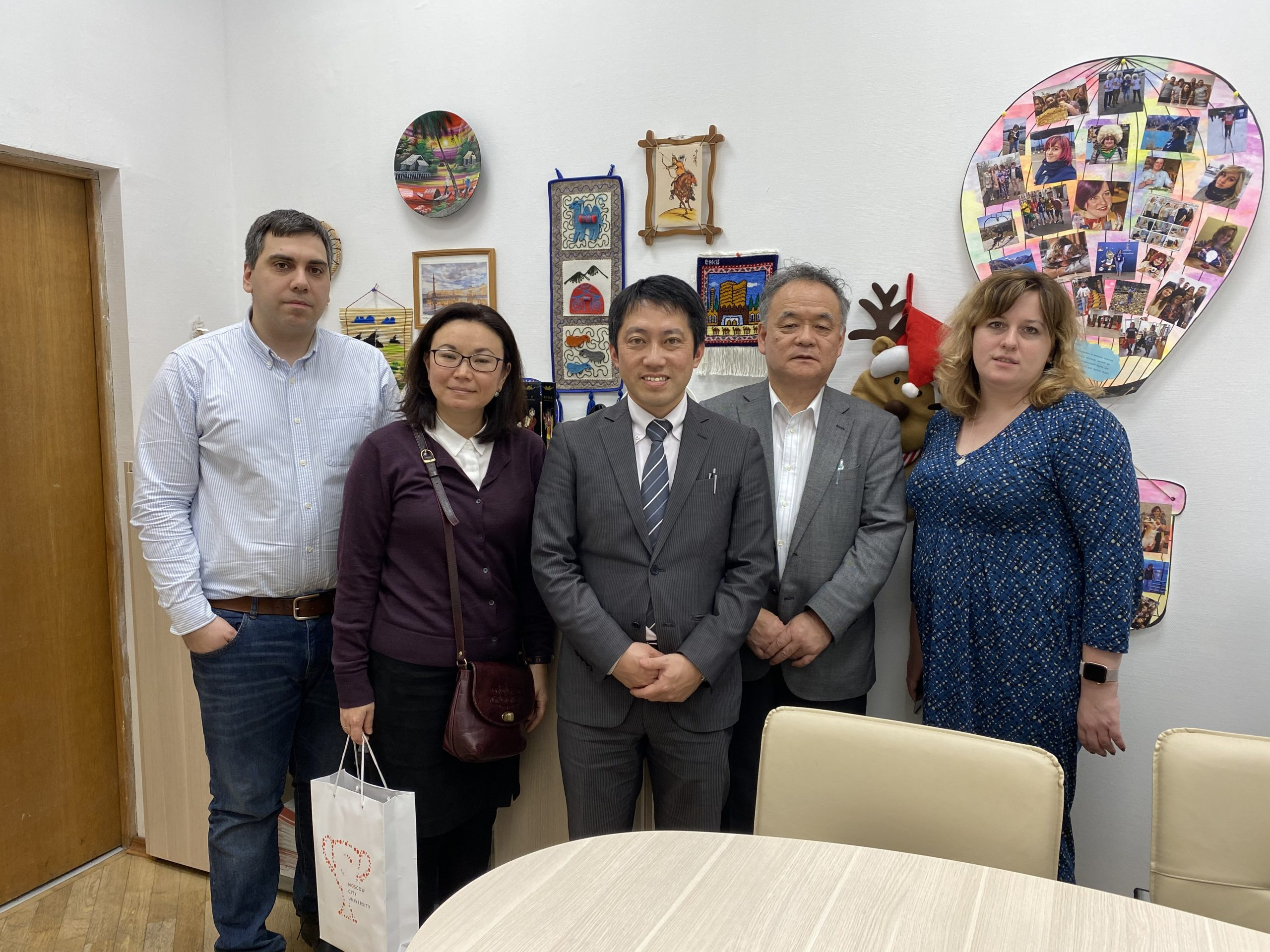 Delegation from the University of Tsukuba at MCU