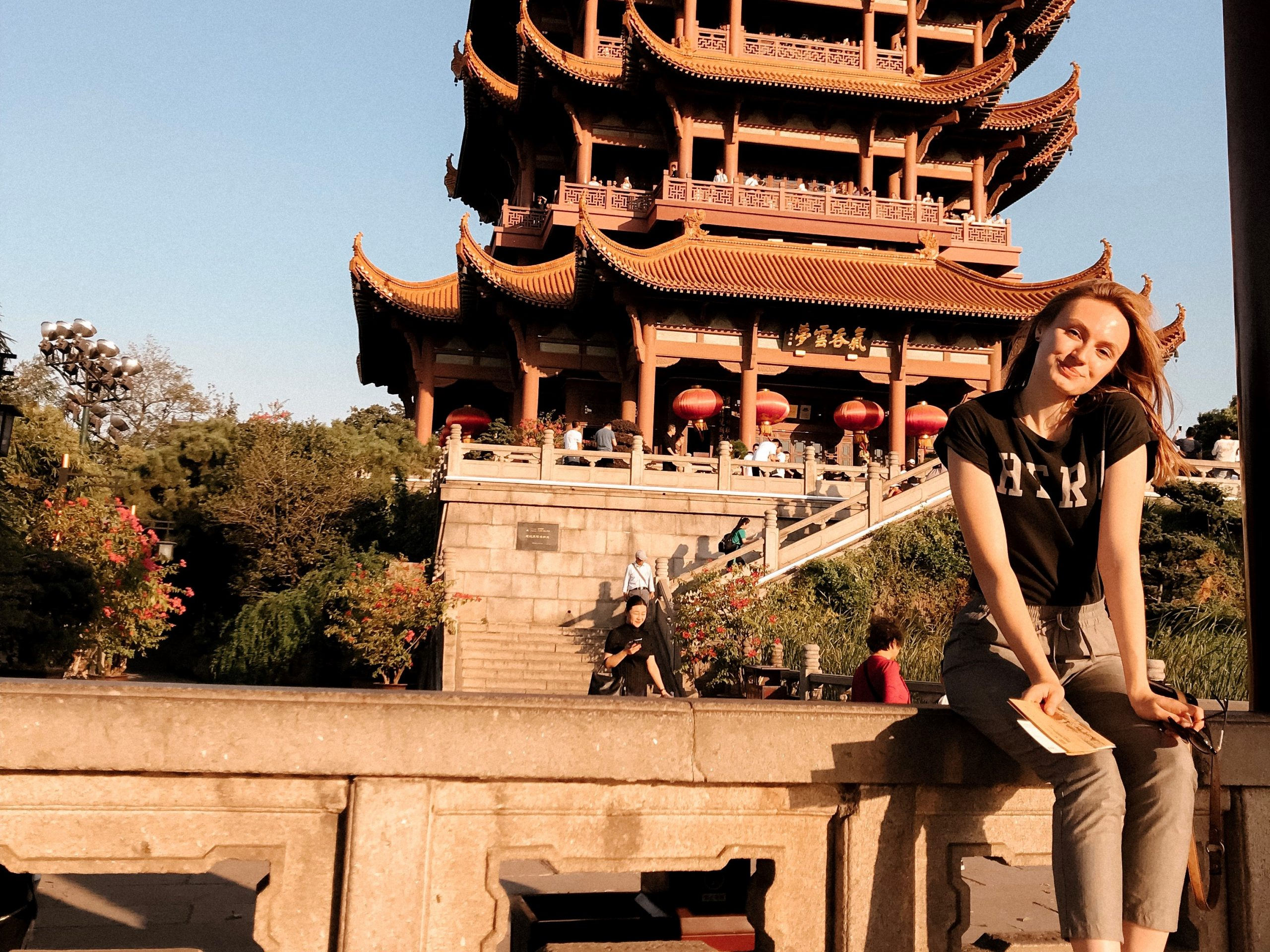 Tatyana Potemkina on receving the Chinese government scholarship