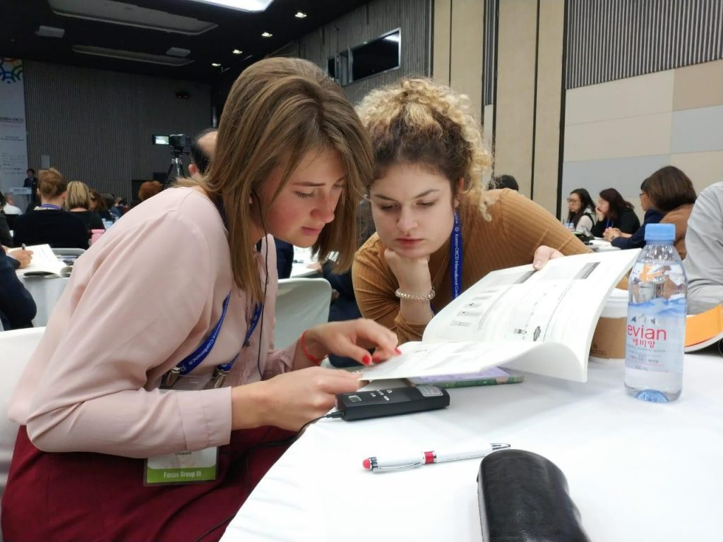 MCU students participated in the OECD Workshop on global education challenges