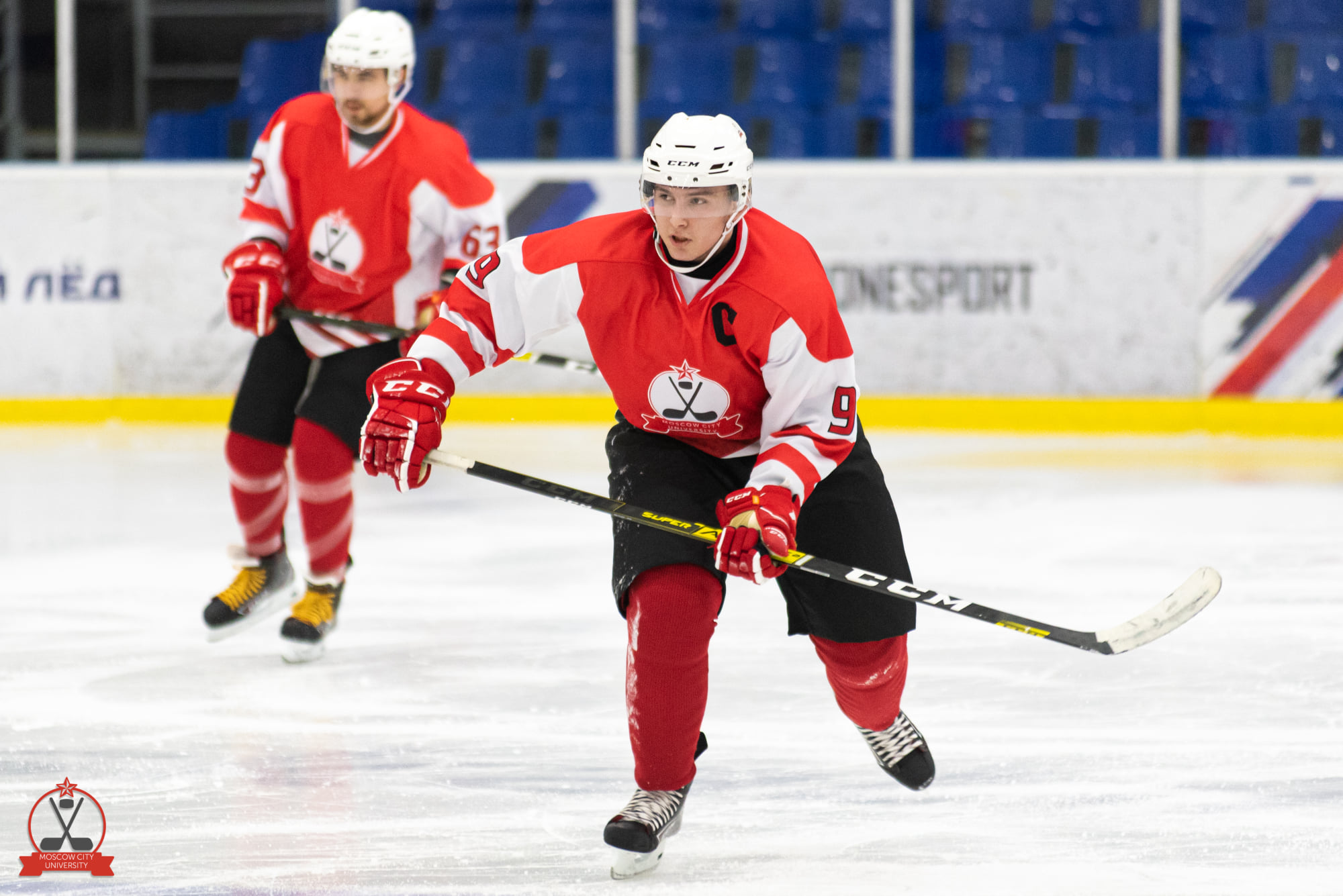 The MCU hockey team debut brilliantly