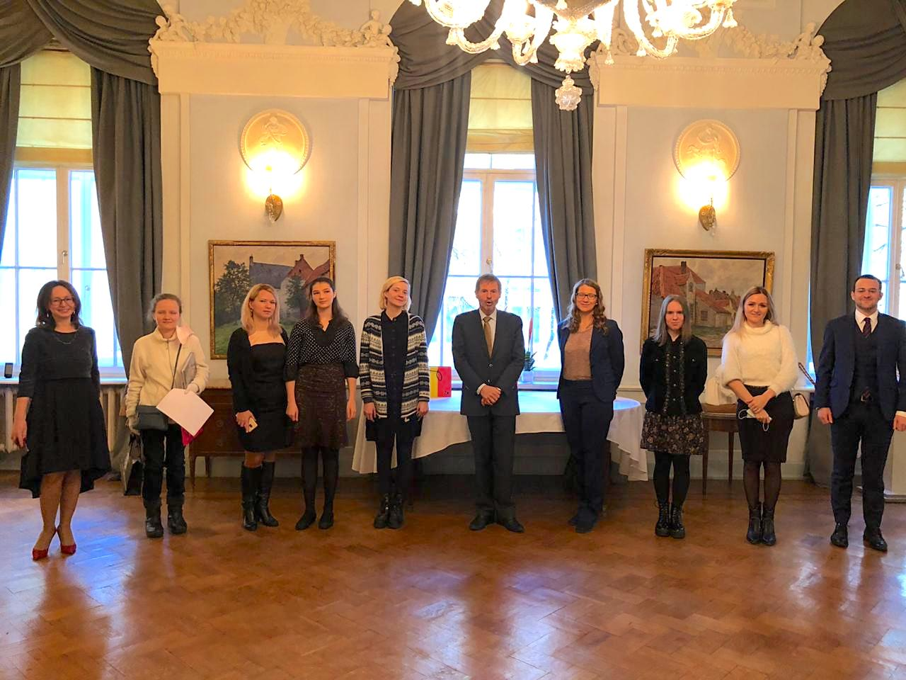MCU students win the Embassy of Belgium translation competition
