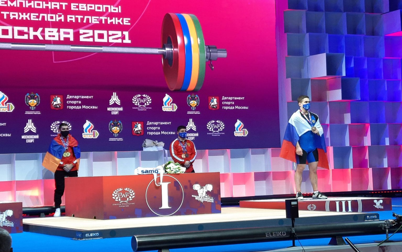 MCU student wins prize at the 2021 European Weightlifting Championships