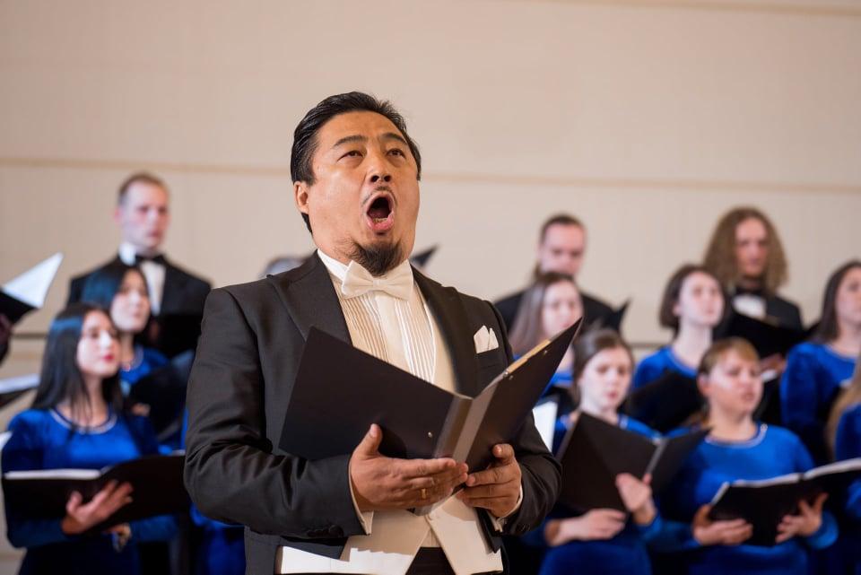 The MCU chapel choir wins the 6th Easter Choir Festival