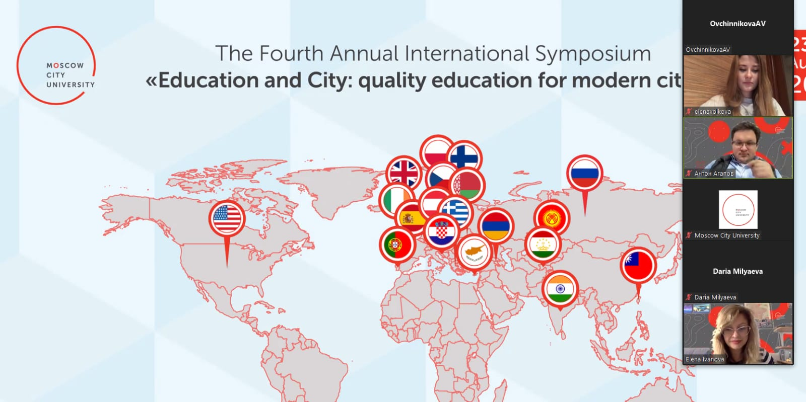 The 4th Annual International Symposium Education and City: Day 3